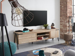 Kave Home Tv-meubel 'Thinh' 165cm